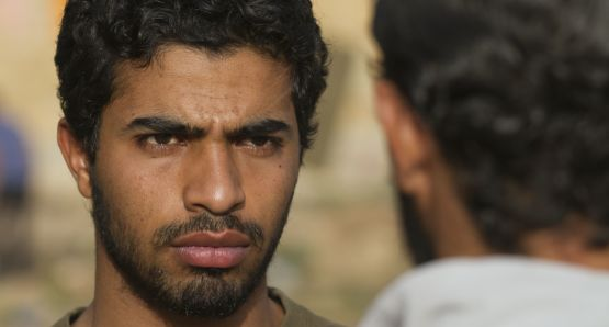 Abdelhakim Rachid as the film's protagonist, Yachine.