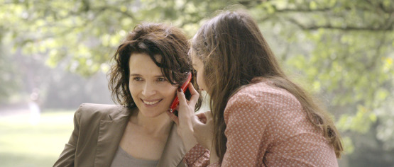 Juliette Binoche and Anaïs Demoustier in Elles, a film by Malgorzata Szumowska.