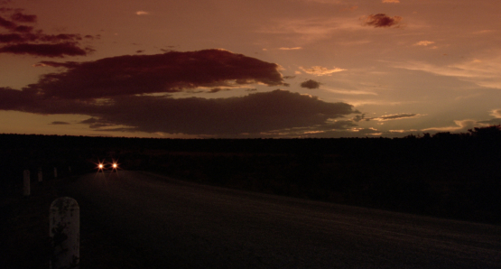 Alex Cox's HIGHWAY PATROLMAN was shot entirely on Mexican locations by cinematographer Miguel Garzón.