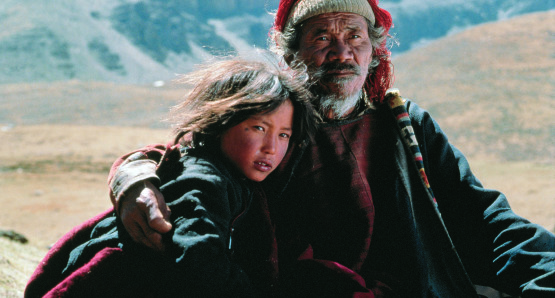 Still from Himalaya.