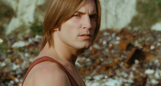 Joe Dallesandro as Krassky in Serge Gainsbourg's JE T'AIME MOI NON PLUS.