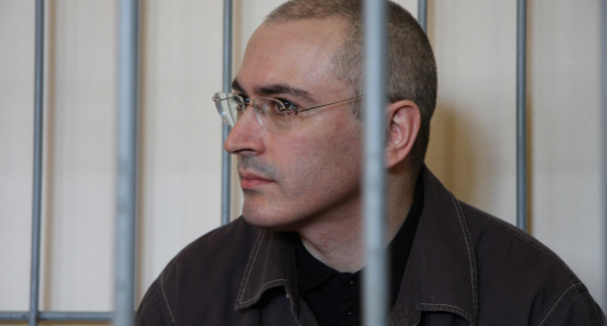 Mikhail Khodorkovsky, subject of Cyril Tuschi's documentary, KHODORKOVSKY