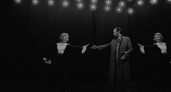 Oleg Yankovskiy as Z and Dorota Segda in Ildikó Enyedi's MY TWENTIETH CENTURY.