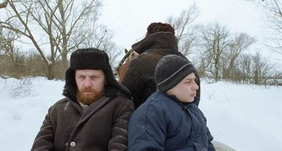 Viktor Nemets as Georgy (left)