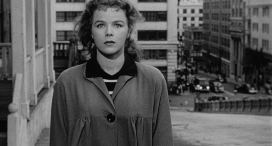 Ida Lupino's NOT WANTED begins with Sally Kelton (Sally Forrest) at her lowest moment.