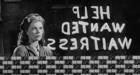 A wandering Sally (Sally Forrest) finds a temporary oasis. Ida Lupino's NOT WANTED is notable for its frank portrayal of its characters' circumstances on the opposite end of postwar prosperity.