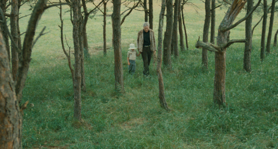 Erland Josephson in Andrei Tarkovsky's THE SACRIFICE.