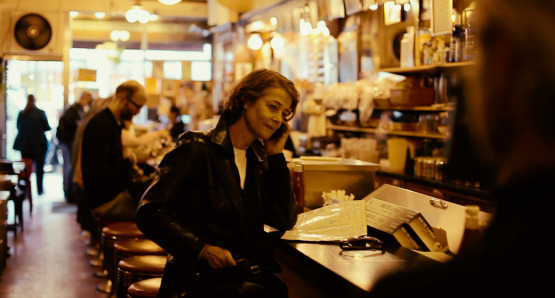Charlotte Rampling in a scene from