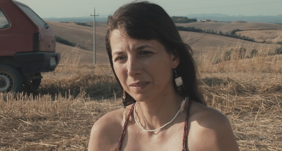 Kathryn Worth as Anna in UNRELATED, a film by Joanna Hogg.