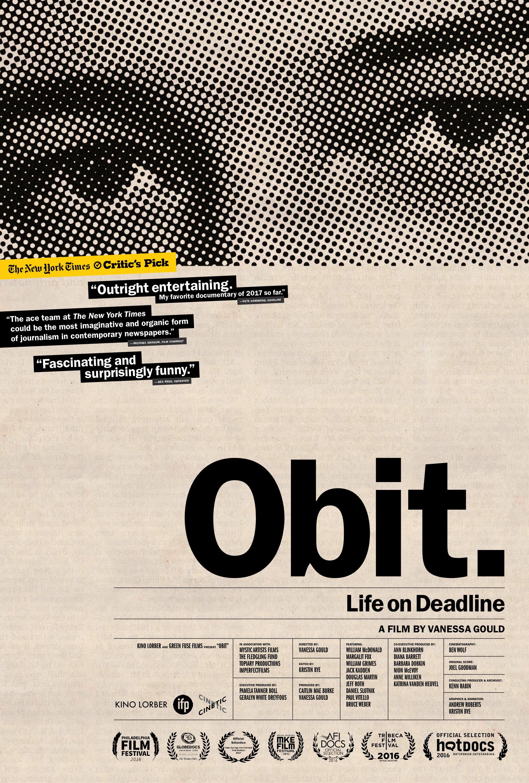 Obit  - Kino Lorber Theatrical