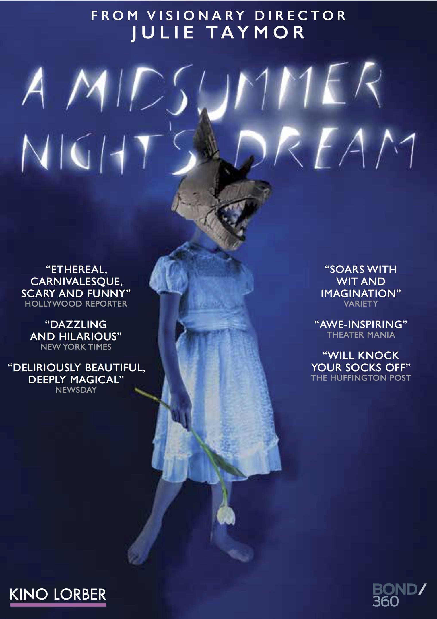 midsummer night u0026 39 s dream  dvd