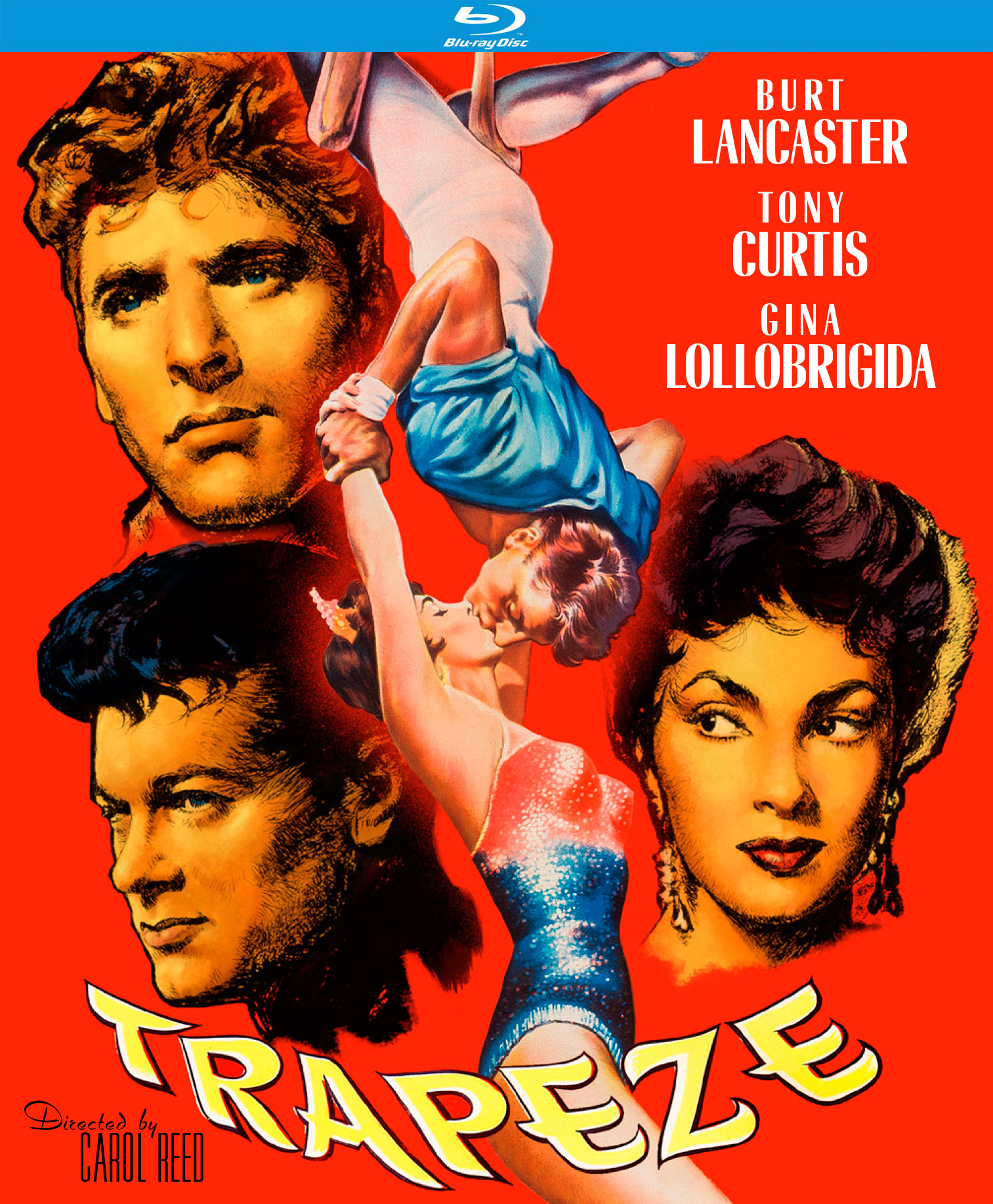 Trapeze Blu Ray Kino Lorber Home Video