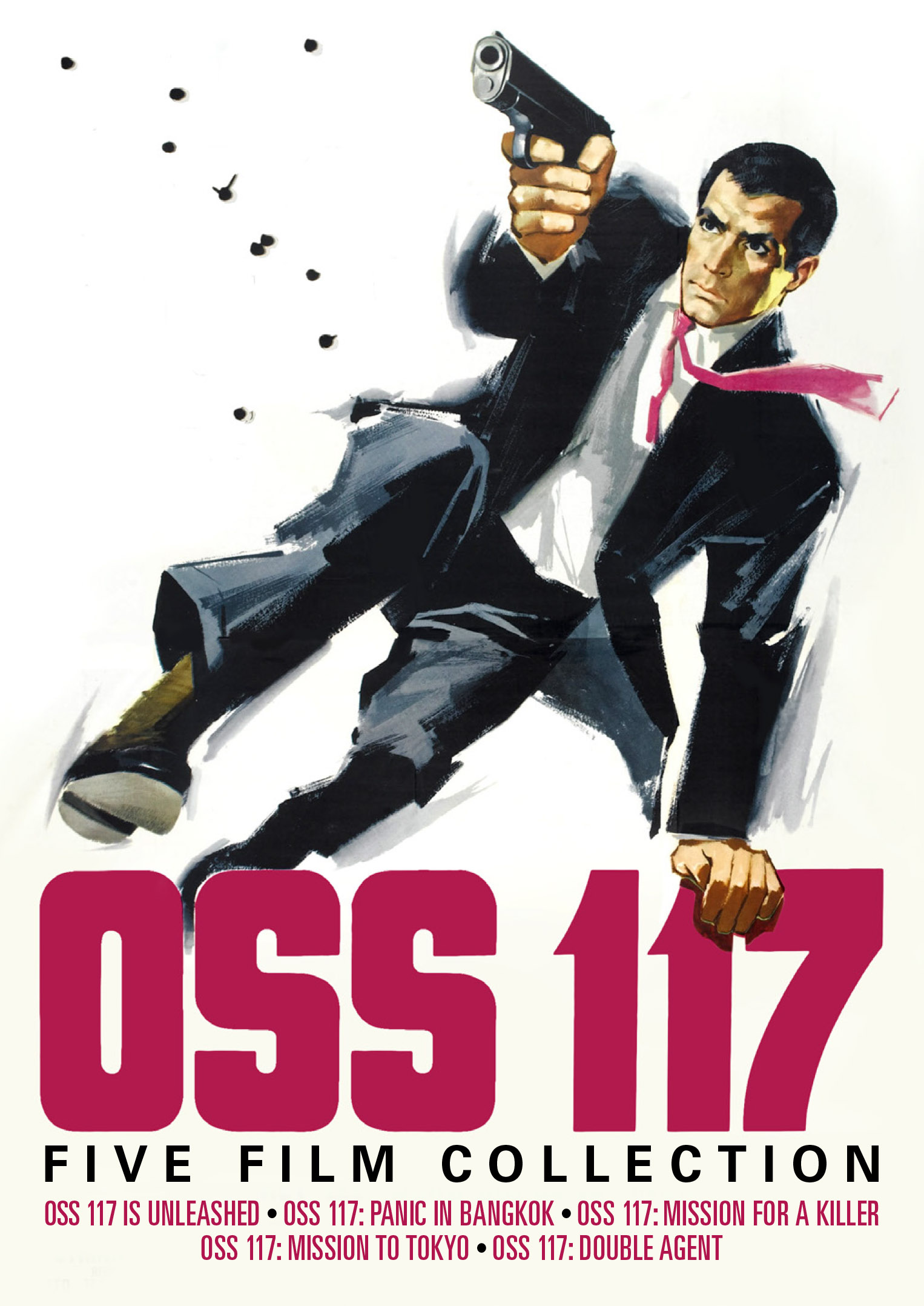 oss 117 five film collection oss 117 is unleashed ooss 117 panic in bangkok oss 117. Black Bedroom Furniture Sets. Home Design Ideas