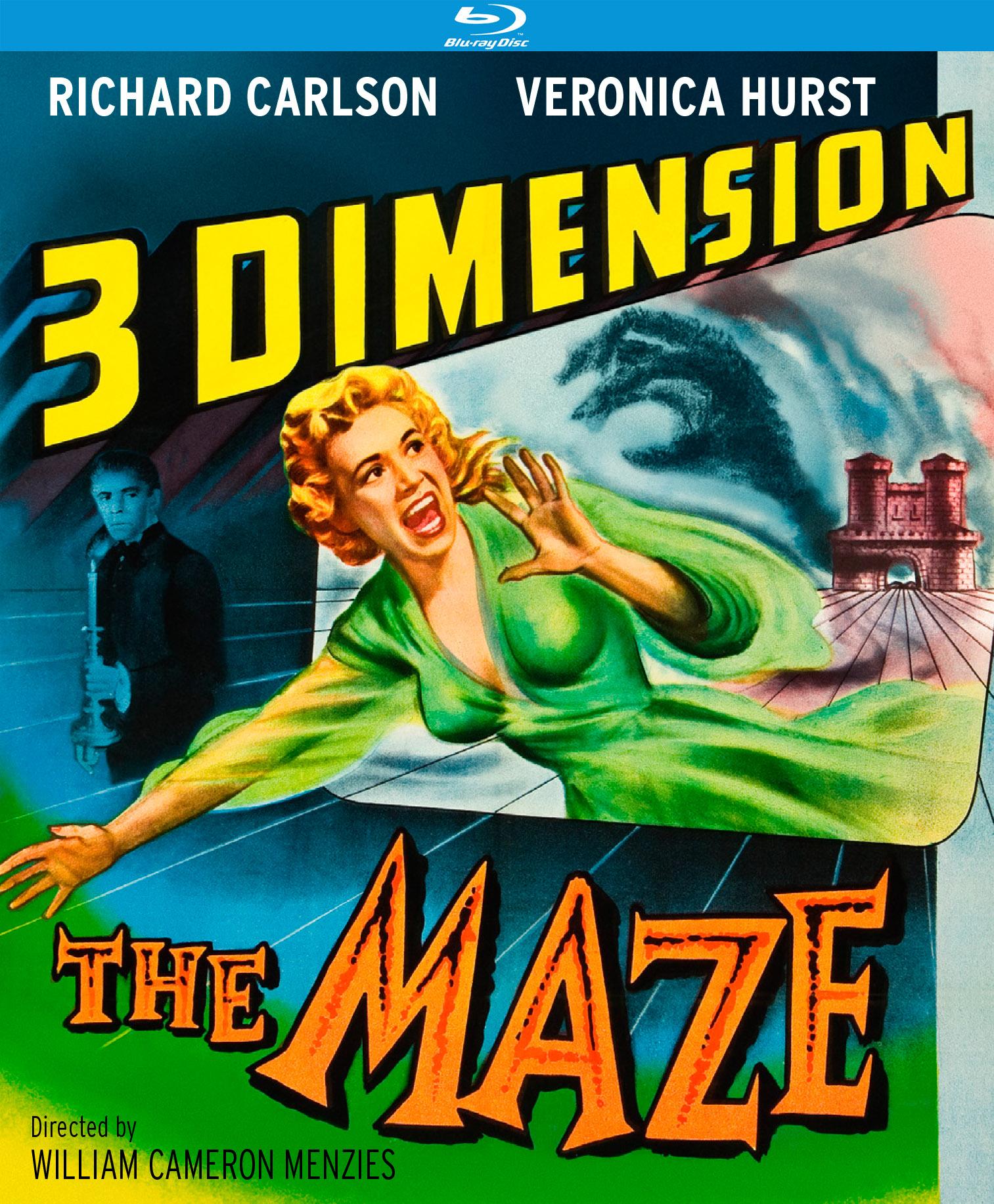 The Maze (3d Blu-ray Edition) (Blu-ray)