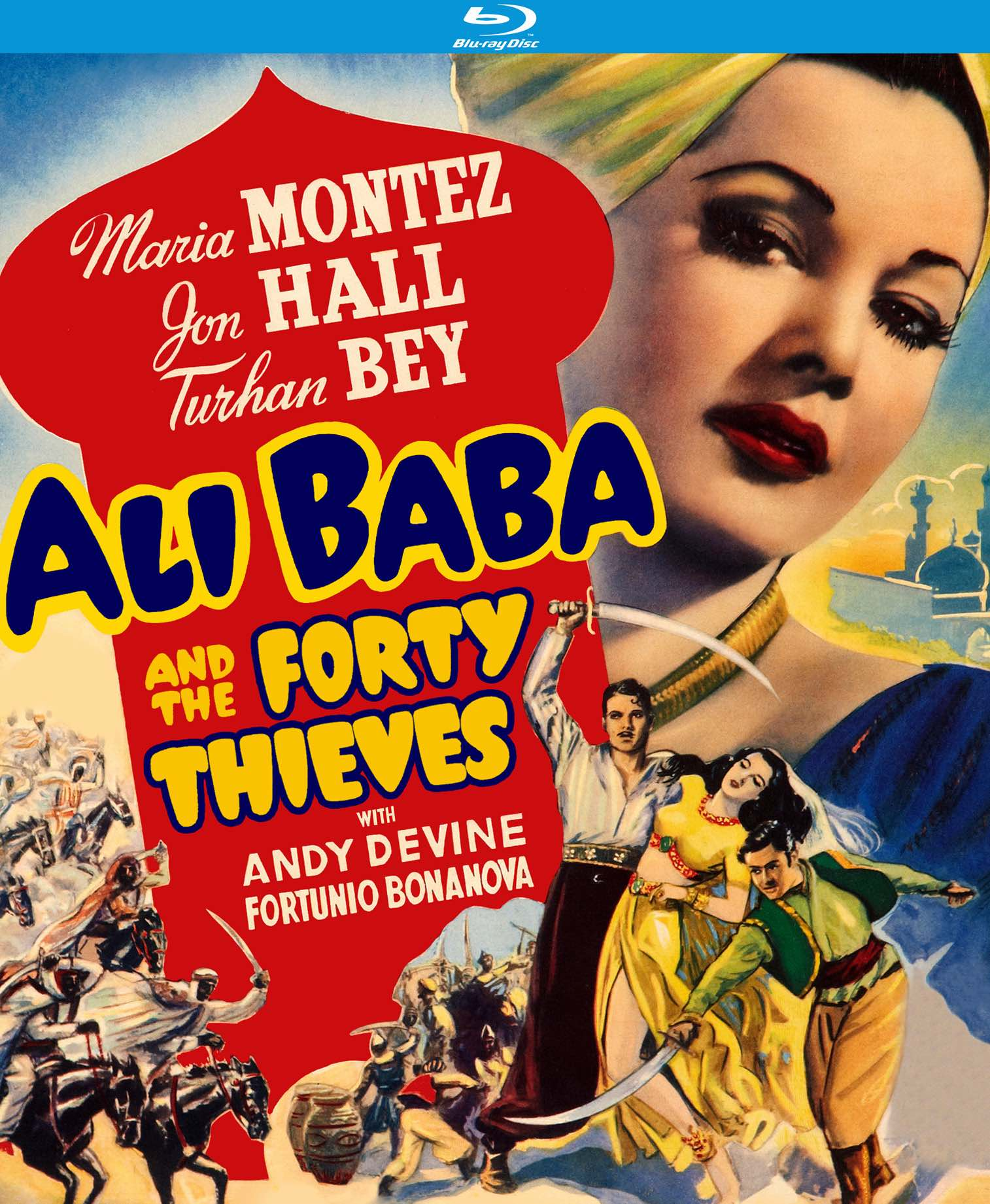 Ali Baba And The Forty Thieves Blu Ray Kino Lorber Home Video