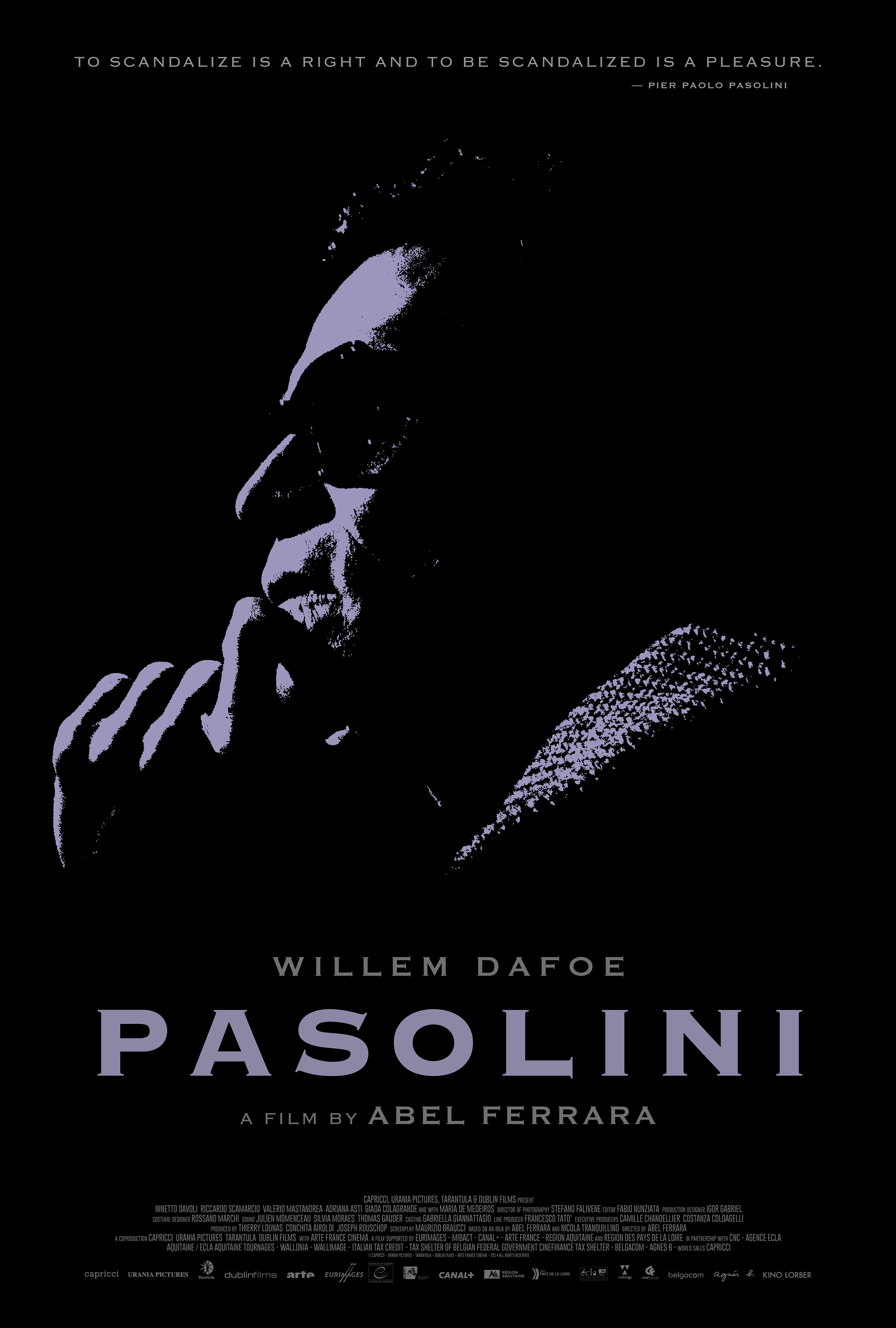Pasolini Kino Lorber Theatrical