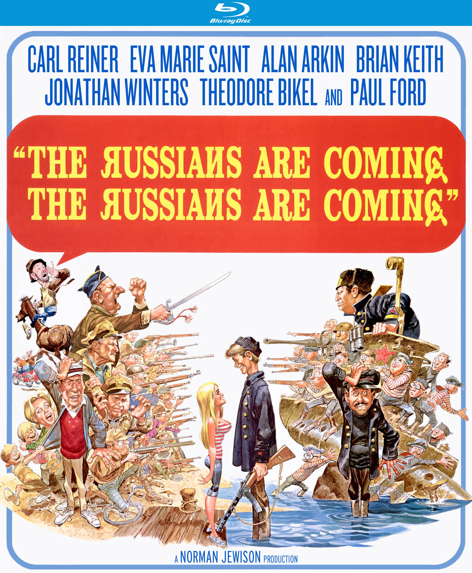 Image result for movie posters the russians are coming, the russians are coming