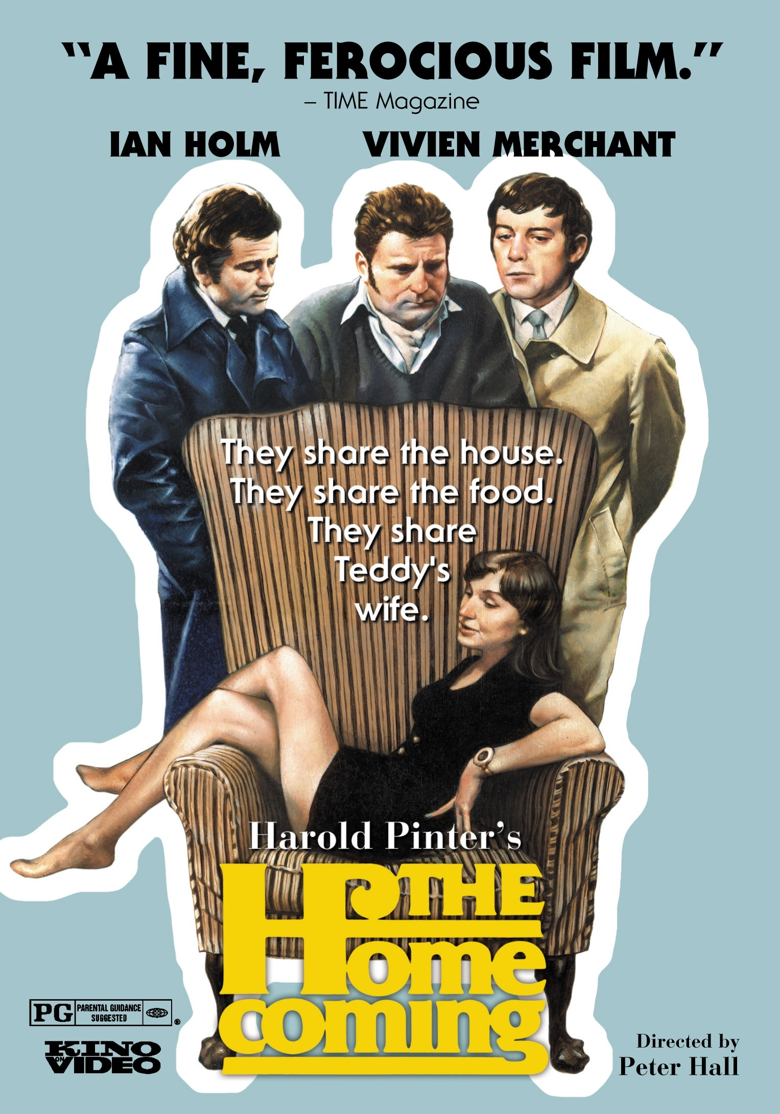 the unexpected return of the eldest son in the homecoming by harold pinter