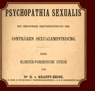 Psychopathia sexualis definition