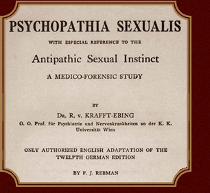 Psychopathia sexualis published